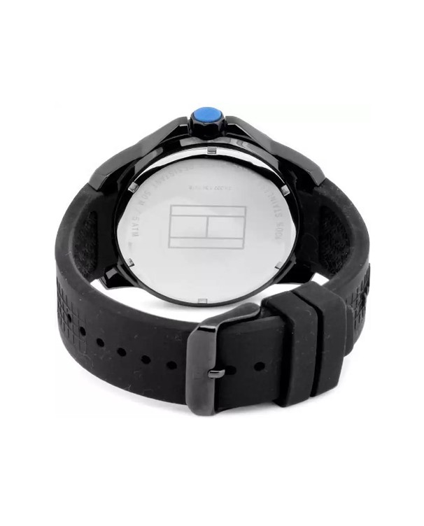 Tommy Hilfiger Cole Black Ion-plated Steel Analogue Men's Watch