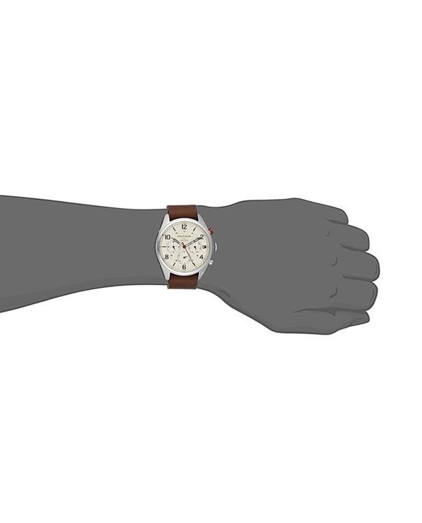 Tommy Hilfiger Corbin Analogue Quartz Brown Starp Men's Watch