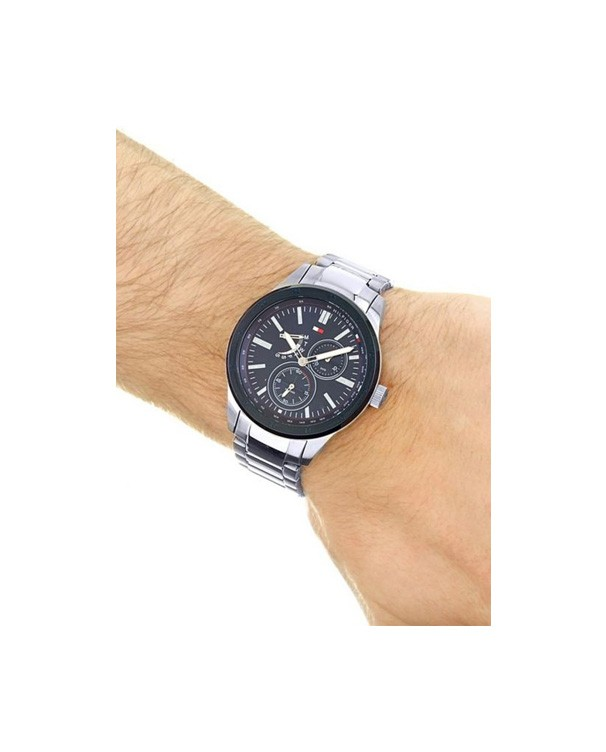 Tommy Hilfiger Austin Quartz Multifunction Stainless Steel Men's Watch