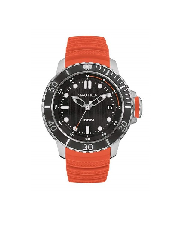 NAUTICA Mod. NMX DIVE Orange-Red NAD18518G