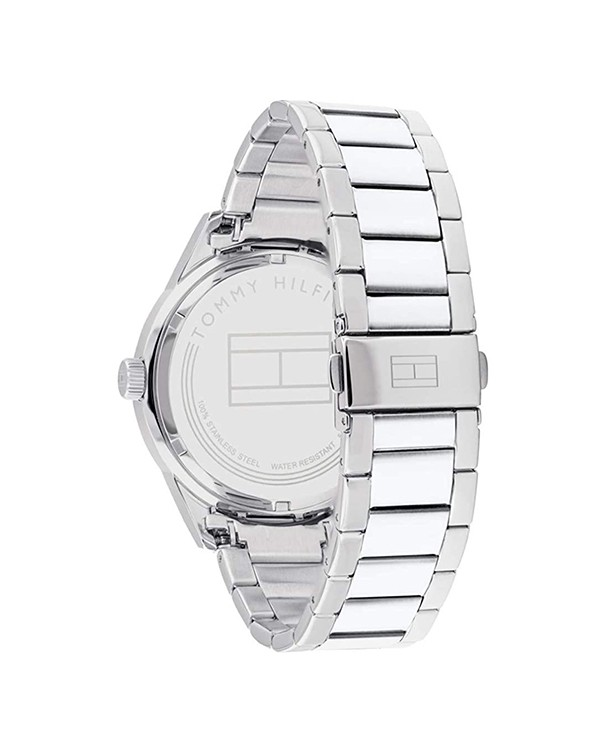 Tommy Hilfiger Austin Analogue Black Dial Stainless Steel Men's Watch