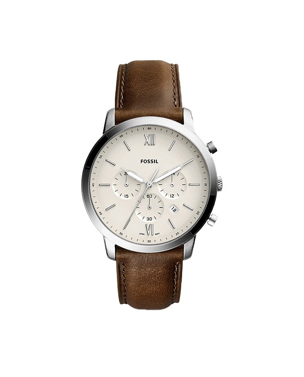 Fossil Neutra with Chronograph Leather Strap Men's Watch