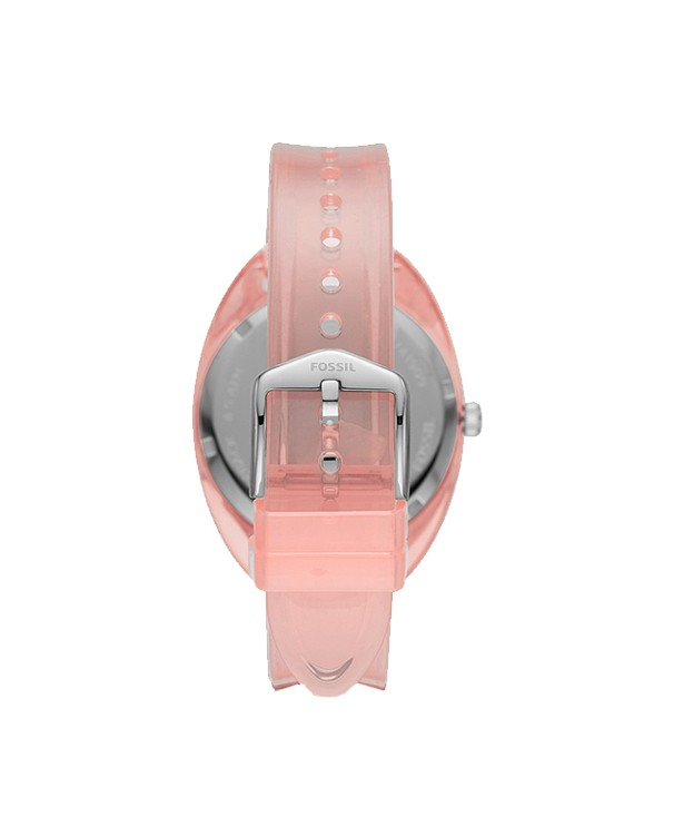 Fossil-Jude-Analog-Pink Dial Women's Watch