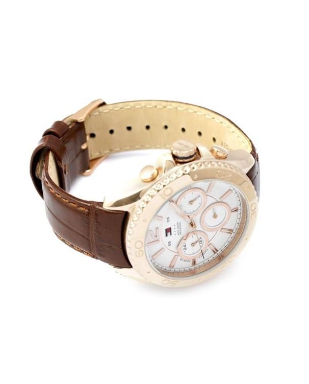 Tommy Hilfiger Grant Quartz Calendar Chronogaphic SS IP Rose Gold Men's Watch